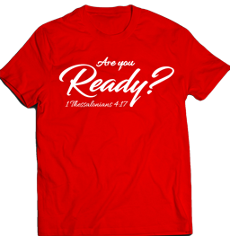 Are You Ready Thumbnail T-shirt